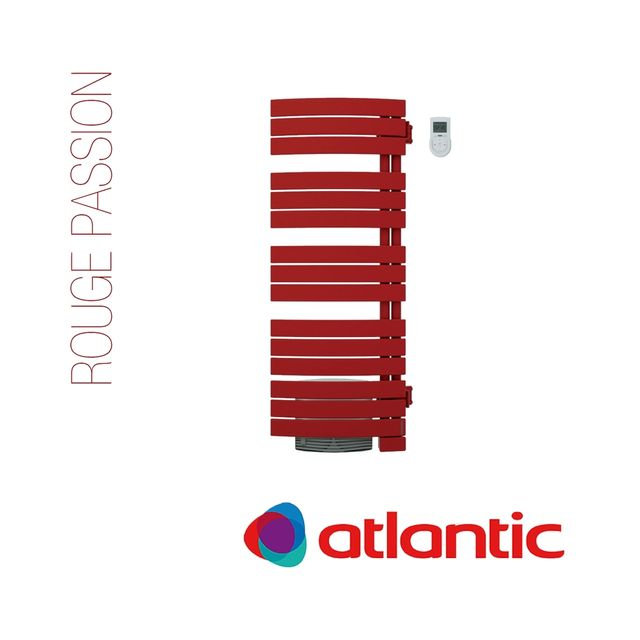Atlantic - Radiateur nefertiti mixte ventilo - 1750w coloré - atlantic - Sèche-serviette