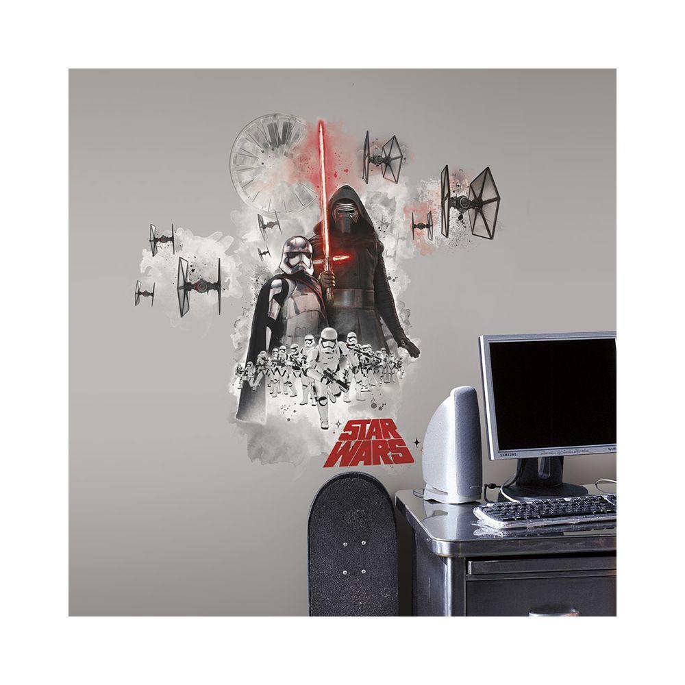 Mon Beau Tapis STAR WARS LES VILAINS - Stickers repositionnables géants les vilains de Star Wars Épisode VII 42x72
