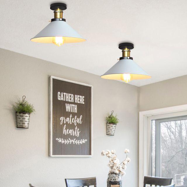 DEL Design Plafonnier Salon ESS Chambre Éclairage commutateur lampe variateur ARGENT
