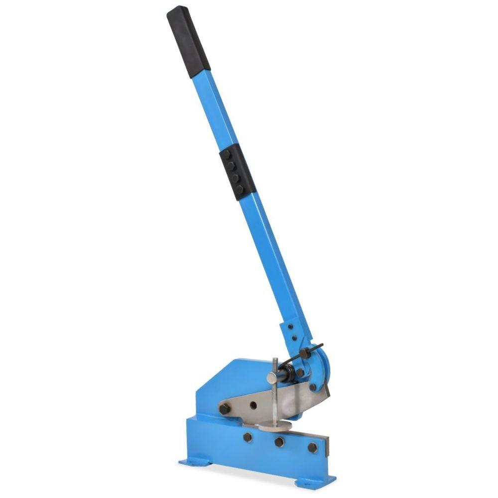 Vidaxl Cisaille à levier 200 mm Bleu - Outils - Outils de coupe - Coupe-barre |