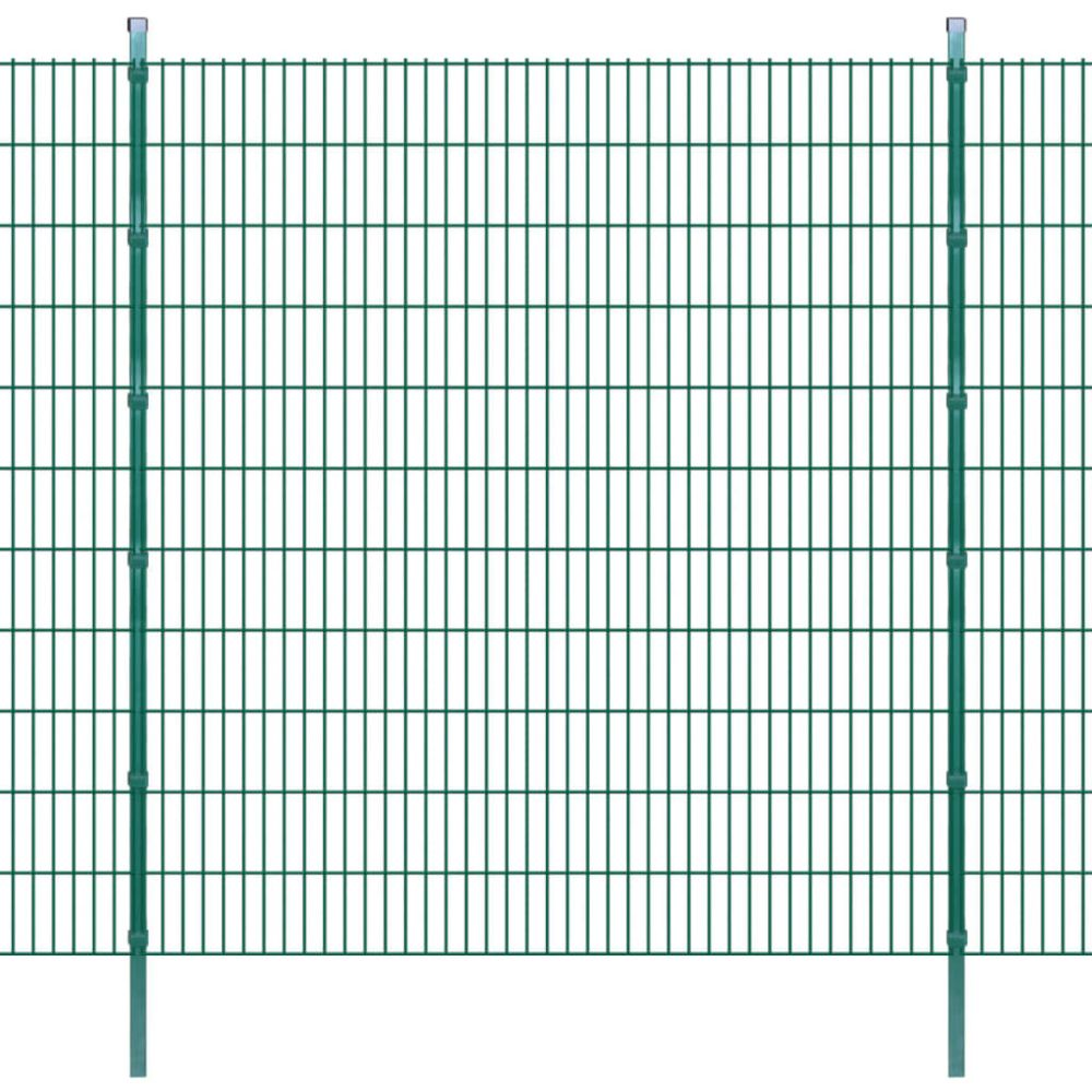 Uco UCO Panneaux et poteaux de clôture 2D pour jardin 2008x2230 mm 10 m