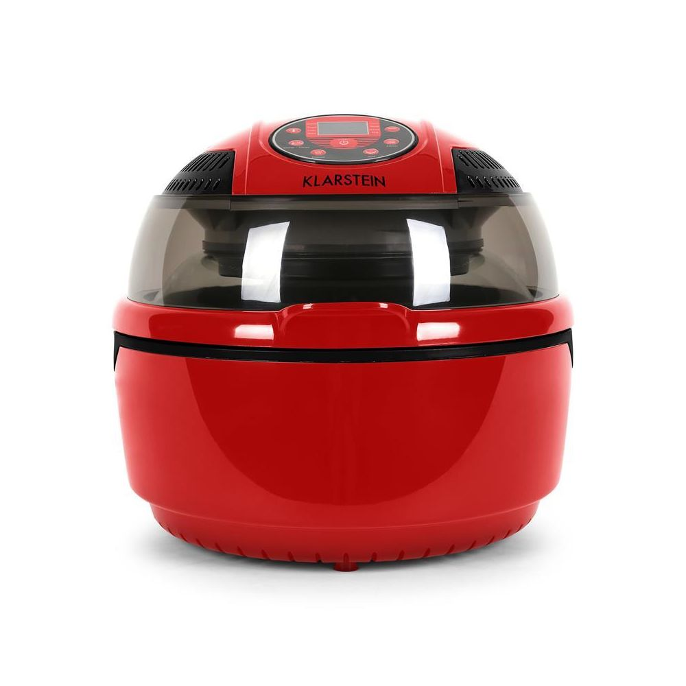 Klarstein Klarstein VitAir Fryer Friteuse sans huile à air chaud 1400W timer -rouge Klarstein
