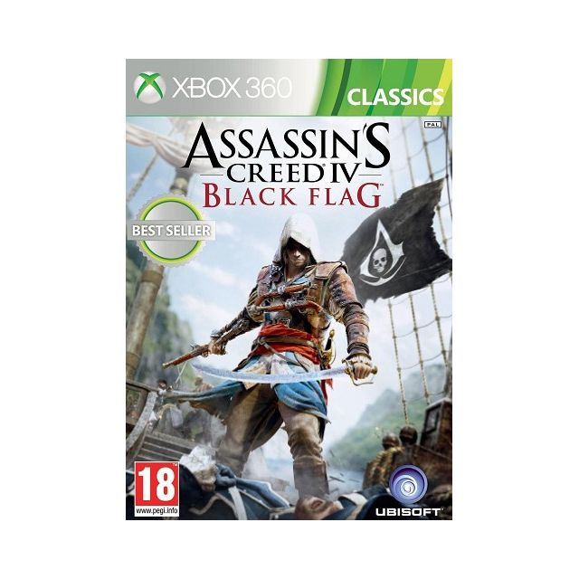 Ubisoft -Assassin s Creed IV Black Flag Ubisoft  - Jeux XBOX 360