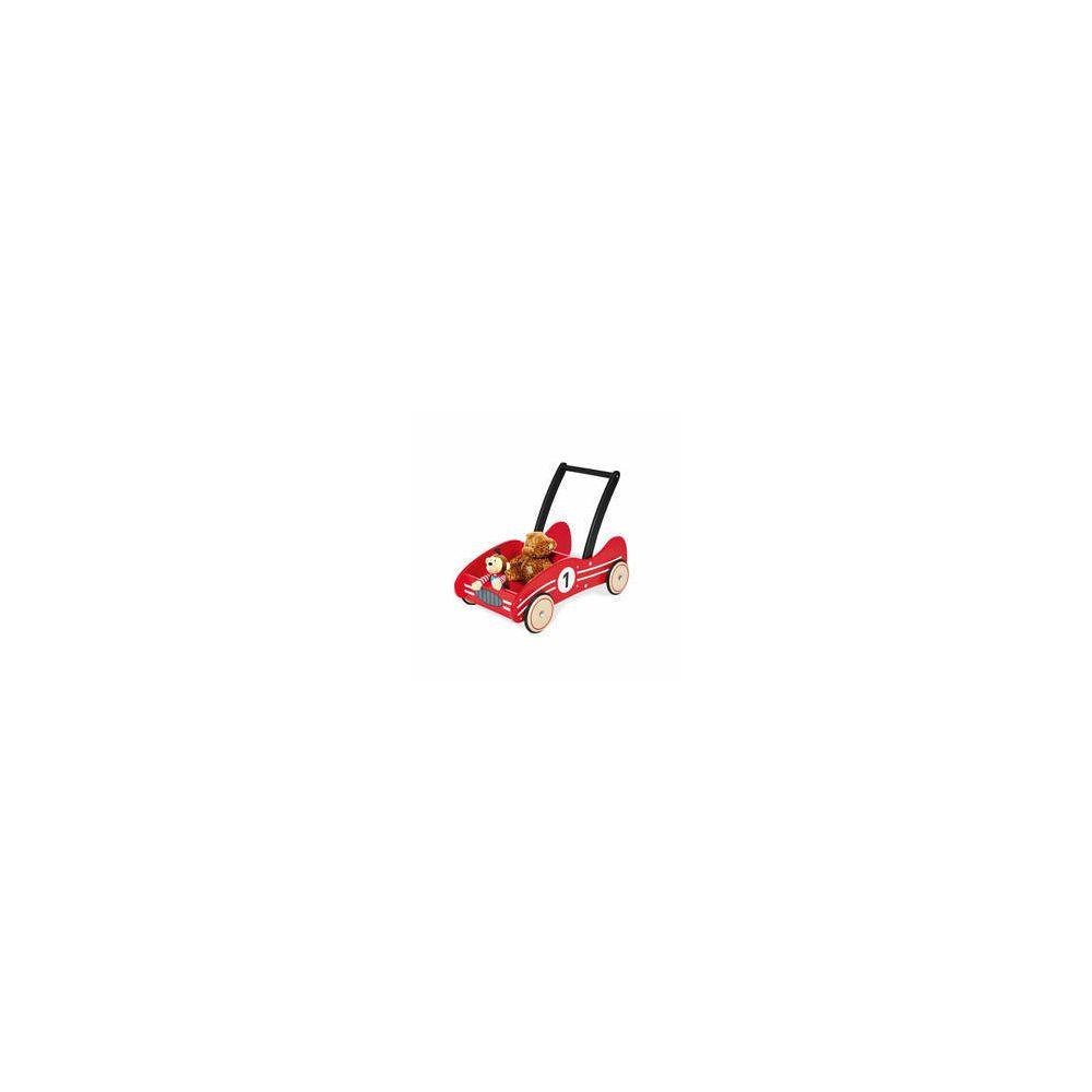 Pinolino Chariot de marche rouge