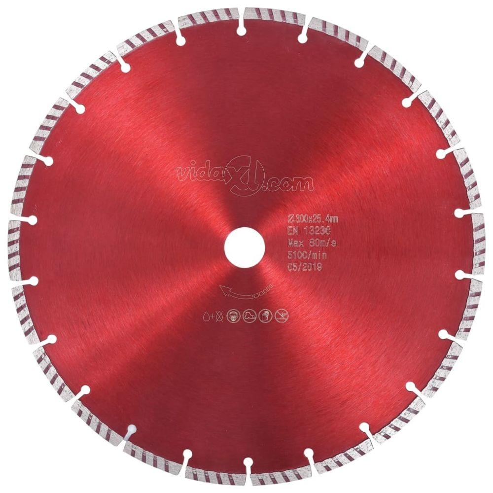 Vidaxl vidaXL Disque de coupe diamanté avec acier turbo 300 mm