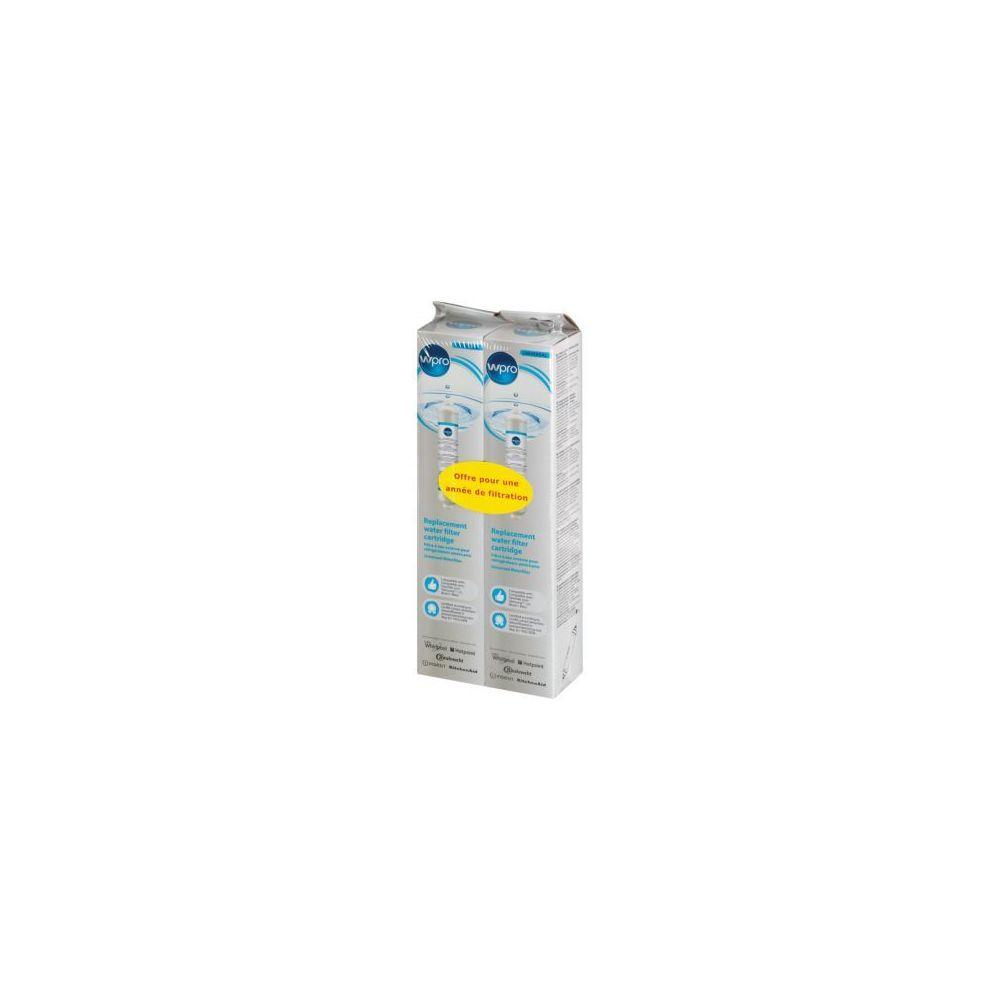 Wpro Filtre à eau WPRO Lot de 2 univ pour ref US SMS200