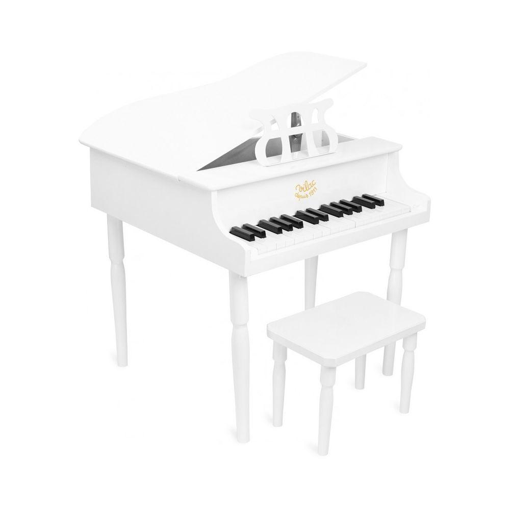 Vilac Grand Piano à queue blanc