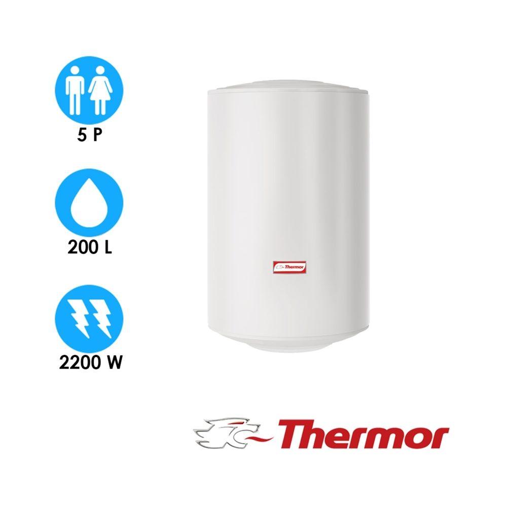 Thermor Chauffe-eau blindé - 200l - vertical mural compact - thermor