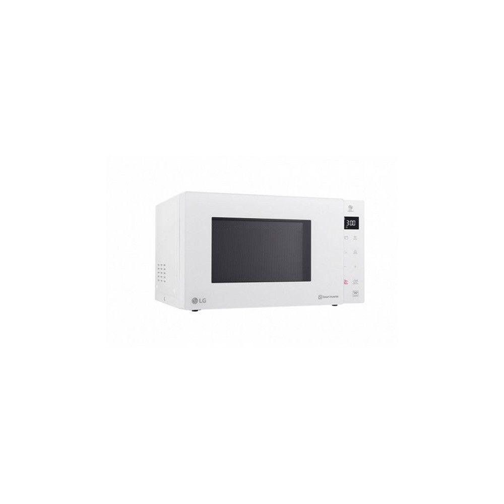 Totalcadeau Micro ondes avec grill 25 L 1000W blanc 900 W - Decongeler et chauffer rapidement les aliments