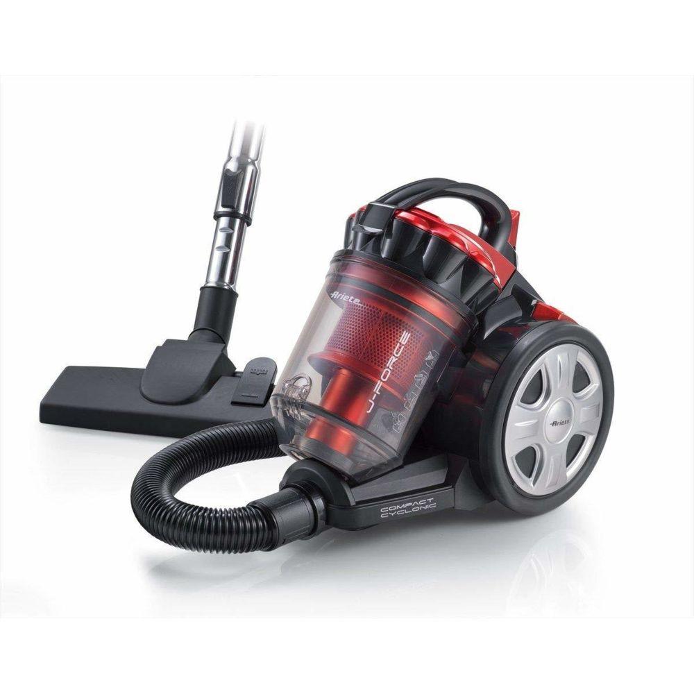 Ariete aspirateur sans Sac de 3L compact cyclonic 700W rouge noir
