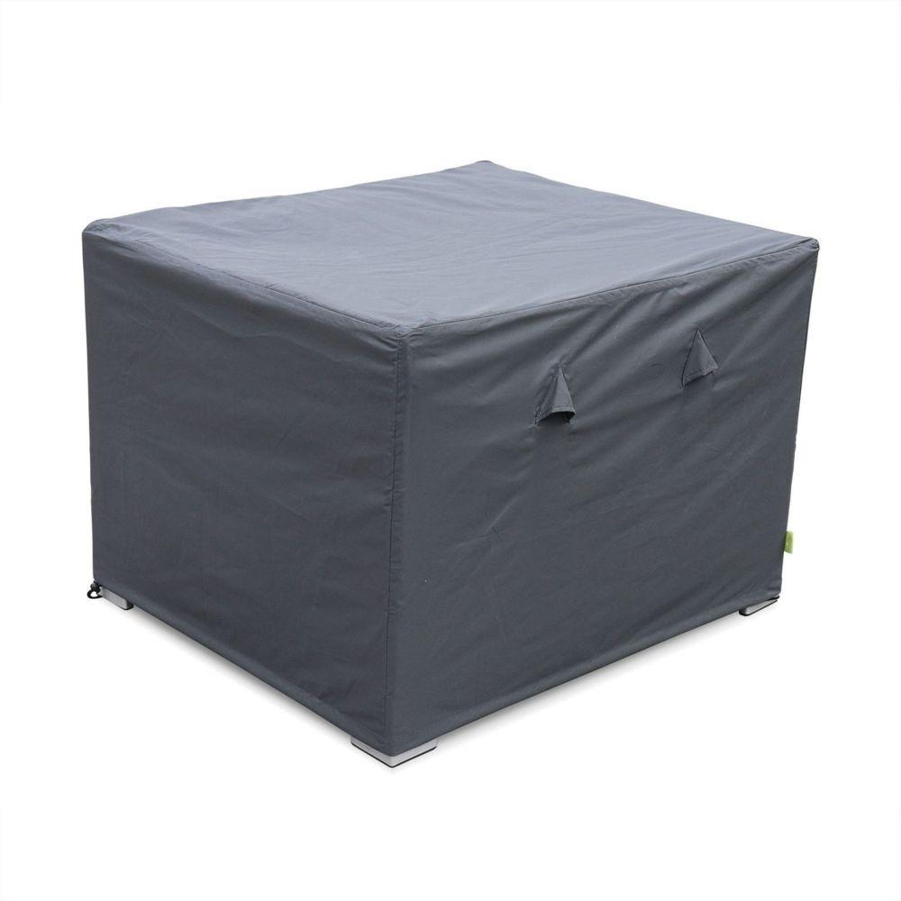 Alice'S Garden Housse de protection gris foncé pour fauteuils de jardin Genova et Brescia - Bâche toile Oxford en polyester enduit PA