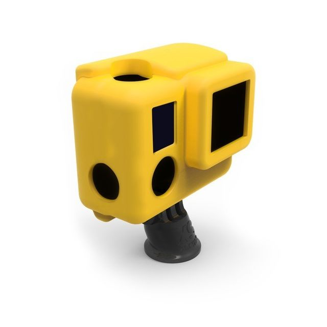 Xsories - SILICONE Cover HERO3+  Jaune - Xsories
