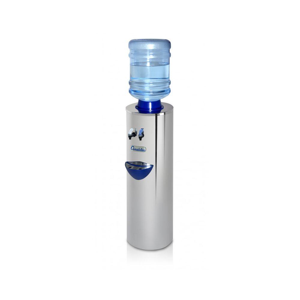 Materiel Chr Pro Fontaine à Eau - Eau Chaude Froide & Ambiante - Canaletas - 2 robinets (eau froide/chaude)