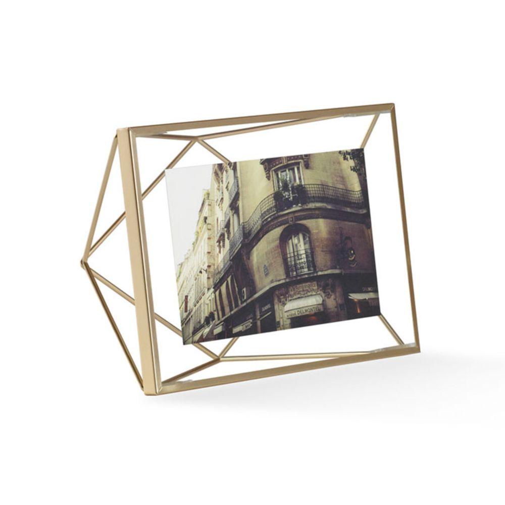 Umbra Cadre photo Prisma 10 x 15 cm - laiton
