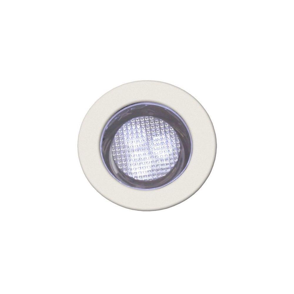 Brilliant Kit de 10 spots encastres IP44 COSA 30 10x0 07W LED intégrée ACIER INOX BLANC - BRILLIANT - G03093_82