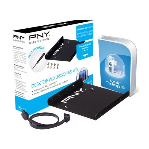 PNY - Kit d'installation SSD/HDD pour Desktop - SSD Interne
