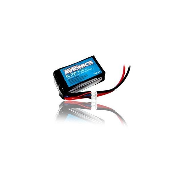 Orion - Avionics Lipo SLP740 mAh 4S-1P 14.8V Orion   - Batteries et chargeurs Orion
