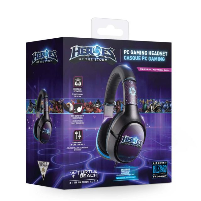 Turtle Beach - Turtle Beach - Casque filaire  Heores of the Storm  pour PC Turtle Beach - Turtle Beach