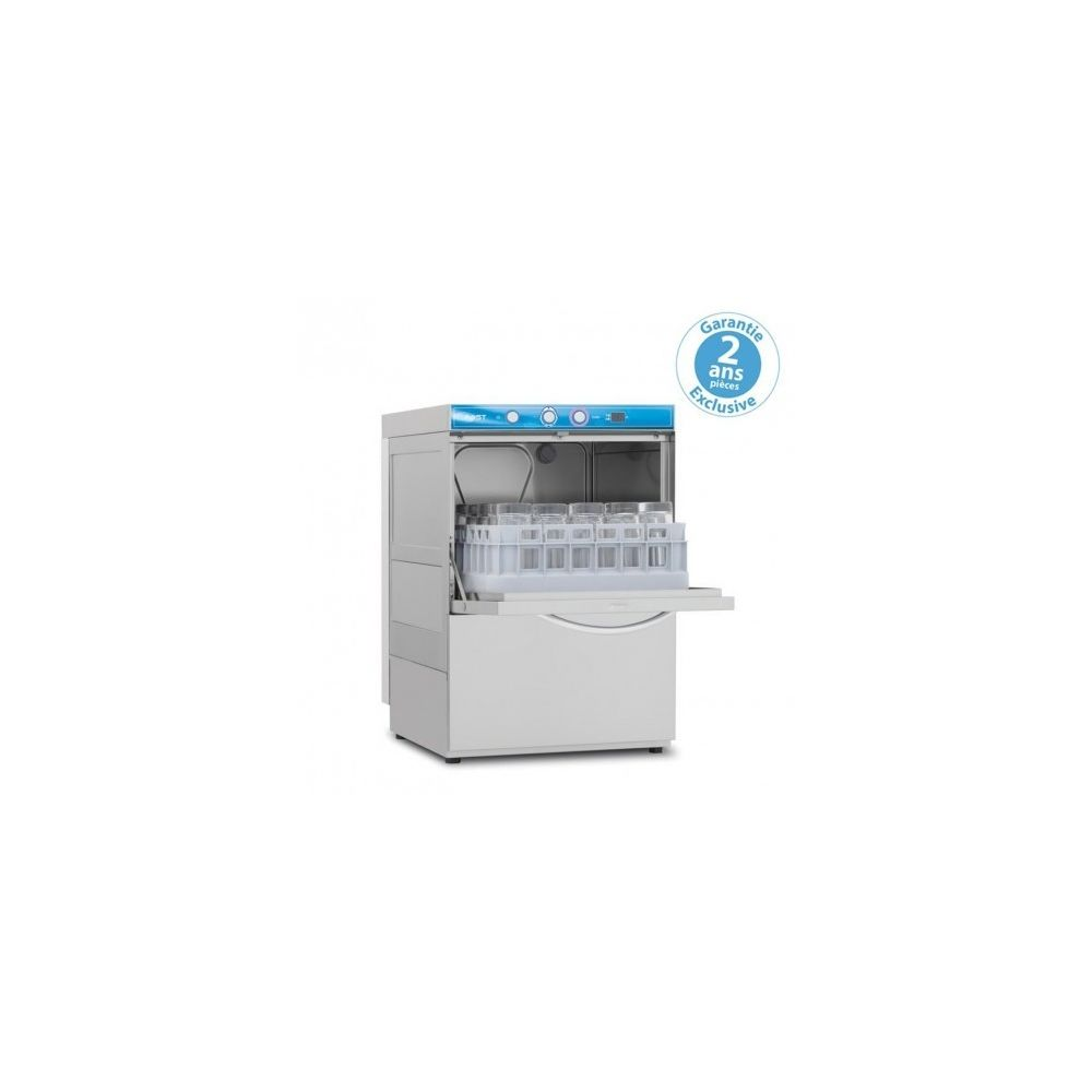 Materiel Chr Pro Lave Verre Bar avec adoucisseur - affichage digital - panier 350 x 350 mm - Elettrobar - 220V monophase