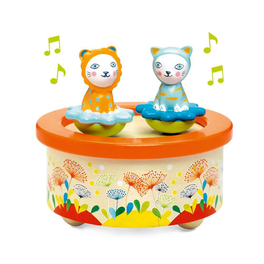 Djeco Boîte à musique magnétique : Twins Melody