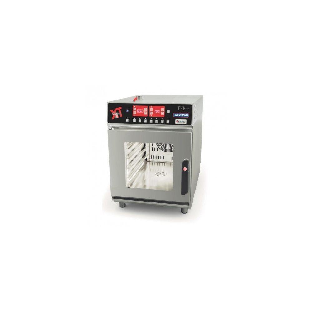 Materiel Chr Pro Four électrique professionnel - commandes électroniques - GN 1/1 - 5,2 kW - Inoxtrend -