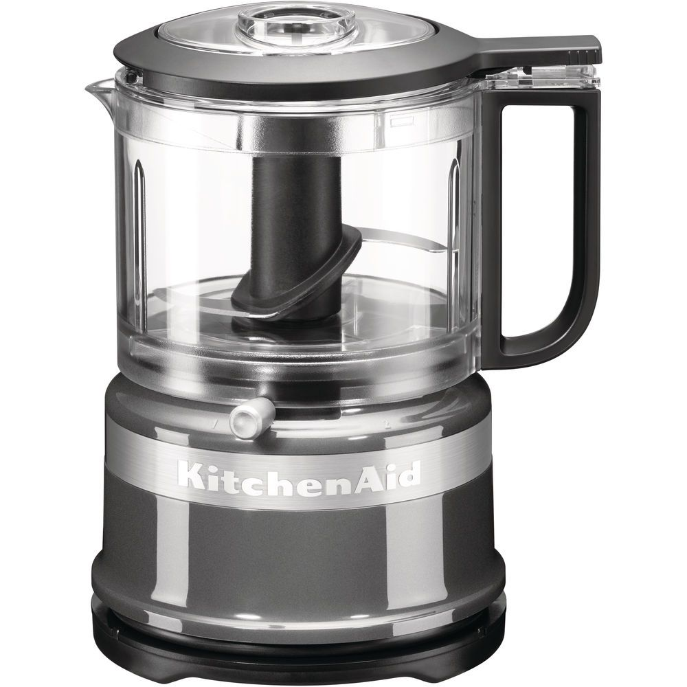 Kitchenaid kitchenaid - mini robot ménager 0.83l 240w gris argent - 5kfc3516ecu