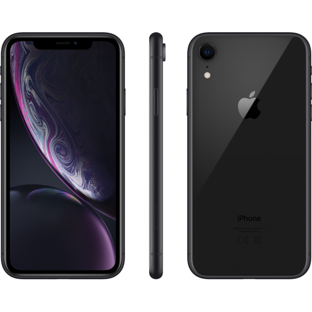 Apple - iPhone XR - 64 Go - MRY42ZD/A - Noir - Smartphone reconditionné