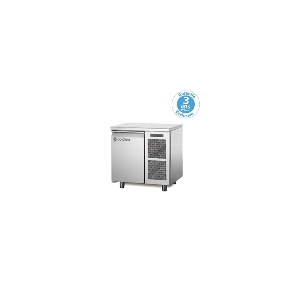 Materiel Chr Pro Table réfrigérée négative - groupe logé - 1 porte - 145 litres - profondeur 800 - 600 x 400 - avec dessus -