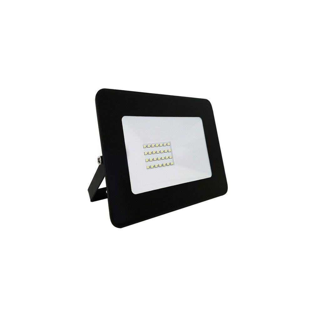 Eclairage Design Projecteur LED Black IP65 extérieur 20W 1800 lumens (Température de Couleur Blanc neutre 4000K)