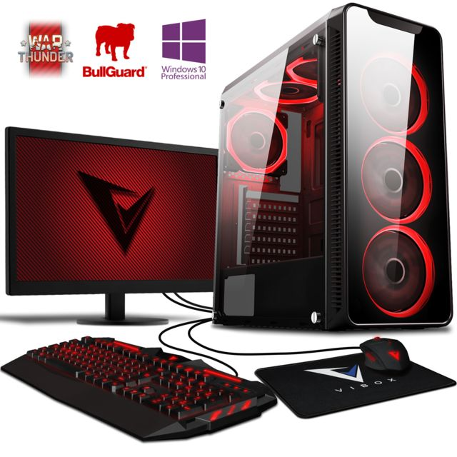 Vibox - Precision 6W PC Gamer - Ordinateur de Bureau Gaming