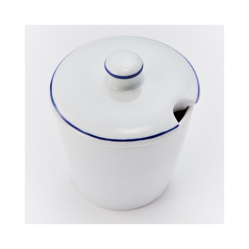 Materiel Chr Pro Sucrier Porcelaine Bistro 200 ml - Lot de 6 - Stalgast - 9 cm Porcelaine 20 cl