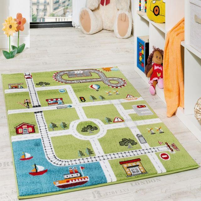 Peinture doiseau Tapis de jeu rond pour tapis de jeu pour b/éb/é Tapis de salle de bain antid/érapant doux pour les tout-petits 70cm