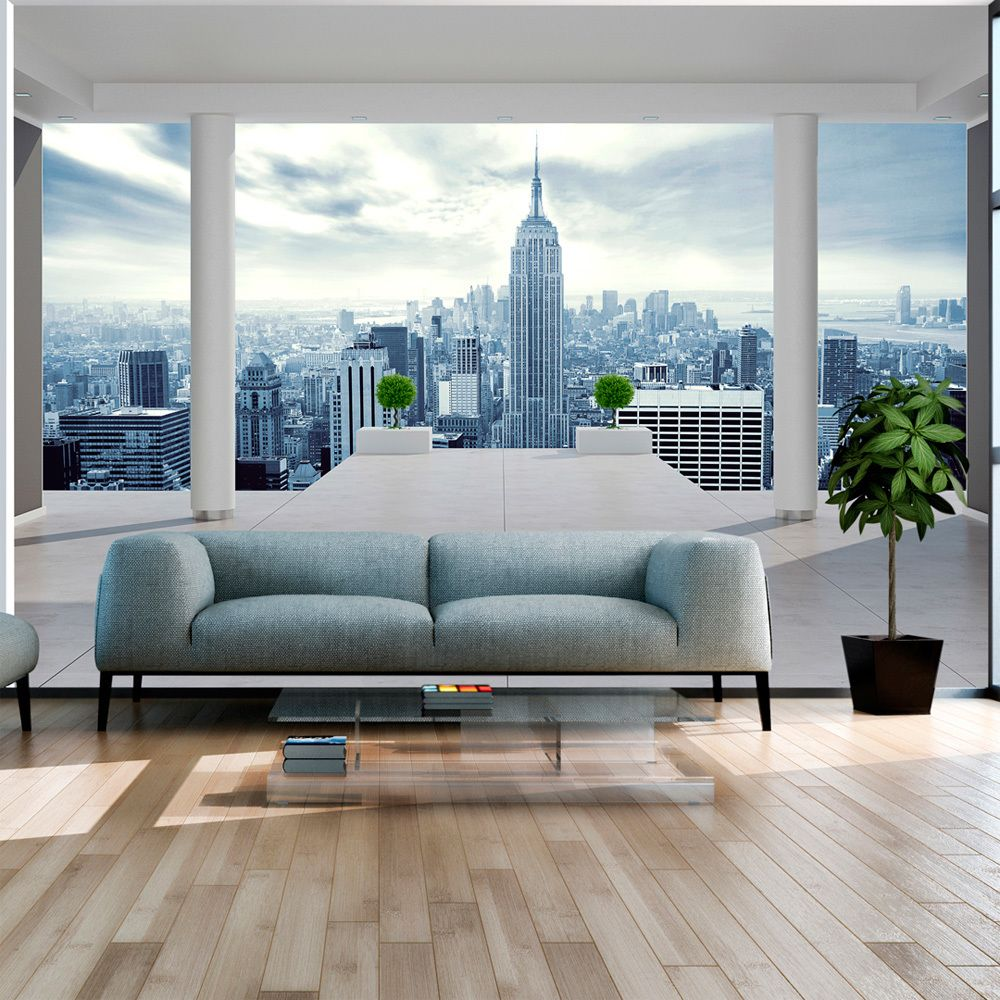 Bimago Papier peint - Ville froide - Décoration, image, art | Ville et Architecture | New York |