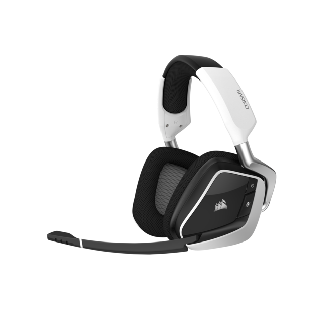 Micro-Casque Corsair VOID RGB ELITE blanc - Sans fil