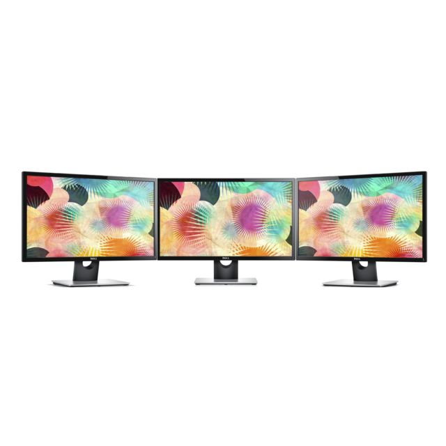 "Moniteur PC Dell Lot de 3 24"""" LED SE2416H"