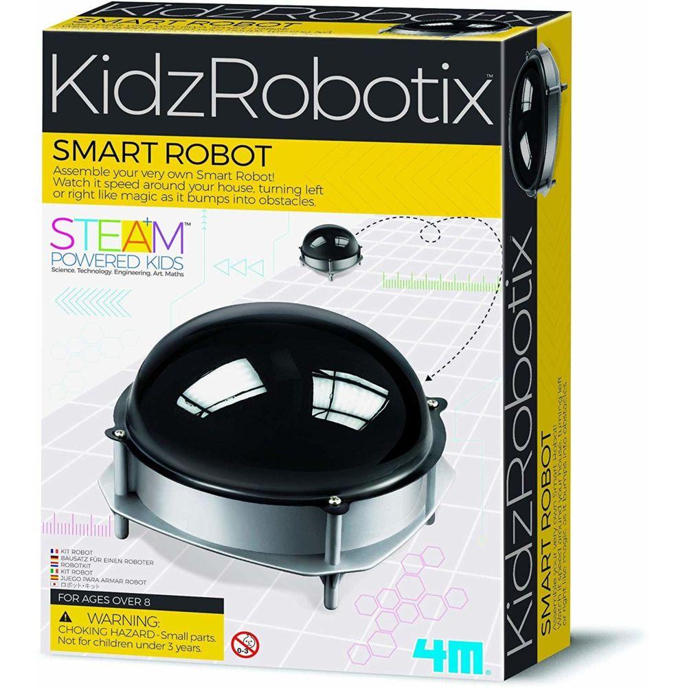 4M Dam - 4M - 5603272 - Jeu de construction - Kidzlabs Kit Science - Smart Robot