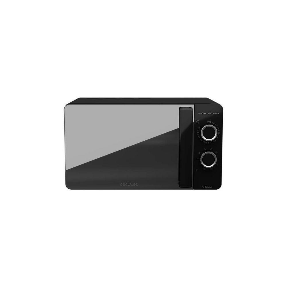 Totalcadeau Micro-ondes avec Grill à 9 fonctions 20 L 700W Noir - Dimensions 44,5 x 35,5 x 25,5 cm