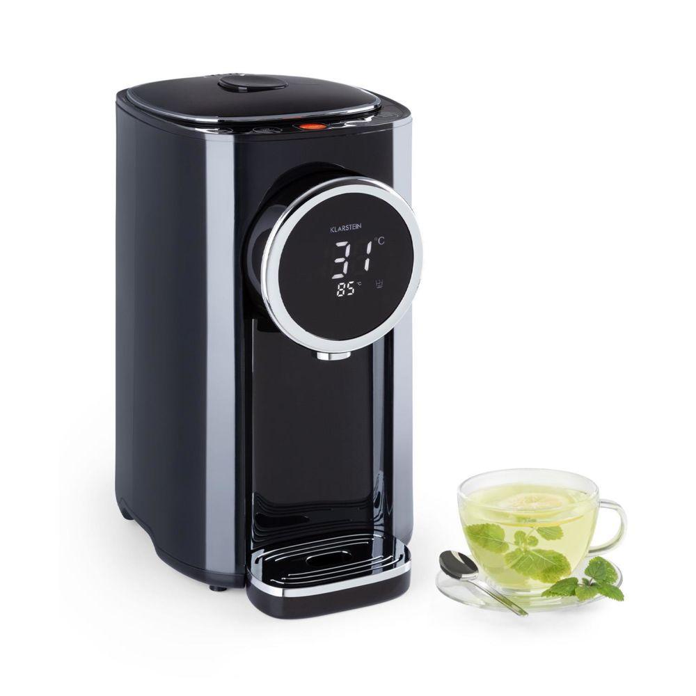 Klarstein Klarstein Hot Spring Plus Distributeur d'eau chaude réservoir 5 litres - Température de 45 à 95°C - Boîtier inox - Noir
