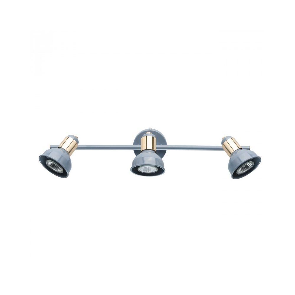Luminaire Center Spot Bleu Neoclassic 3 ampoules 17 Cm