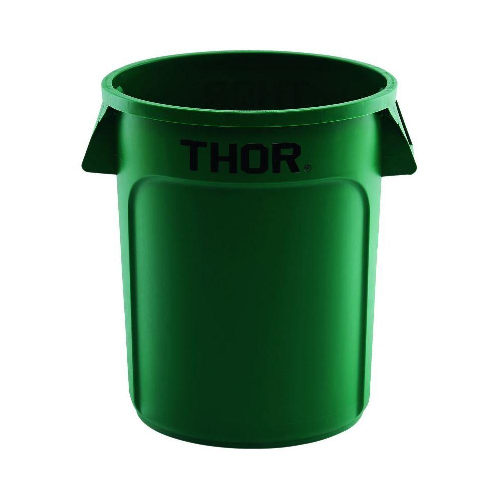 Materiel Chr Pro Poubelle Universelle Thor 75 L - Coloris au choix - Stalgast - 588 mm Vert Plastique