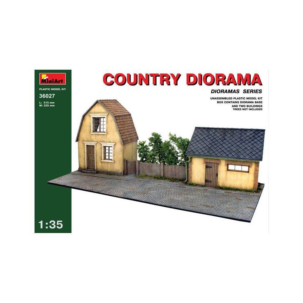 Mini Art Country Diorama - Décor Modélisme