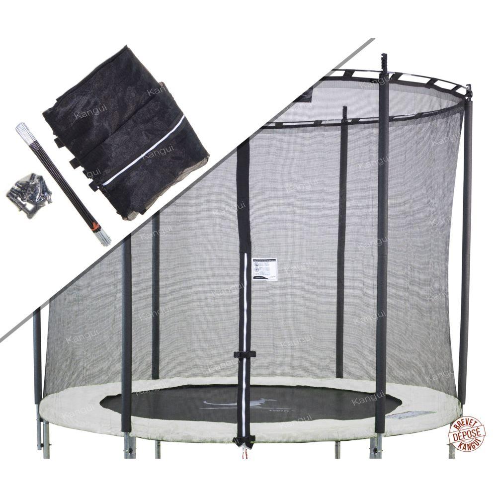 Kangui Kangui - Filet de sécurité et protection trampoline Ø 244cm