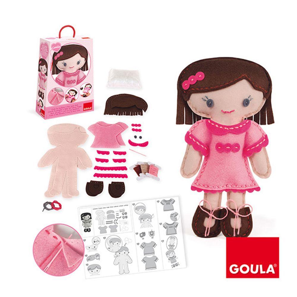 Goula Kit de couture : Couds ta poupée : Camille