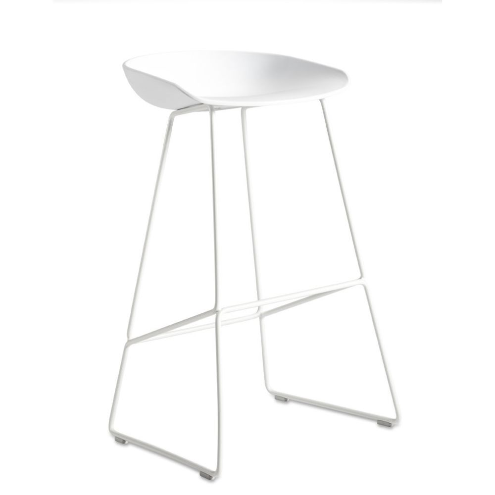 Hay About a Stool AAS38 - blanc - 76 cm - blanc