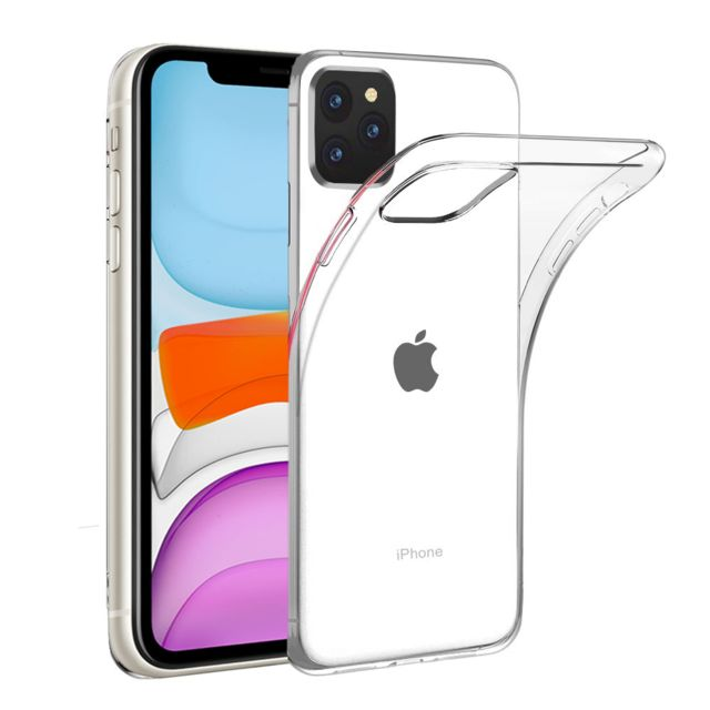 Xeptio - Coque Apple iPhone 11 6,1 pouces Souple Transparente flexible Bumper en Gel TPU Silicone Invisible - Xeptio