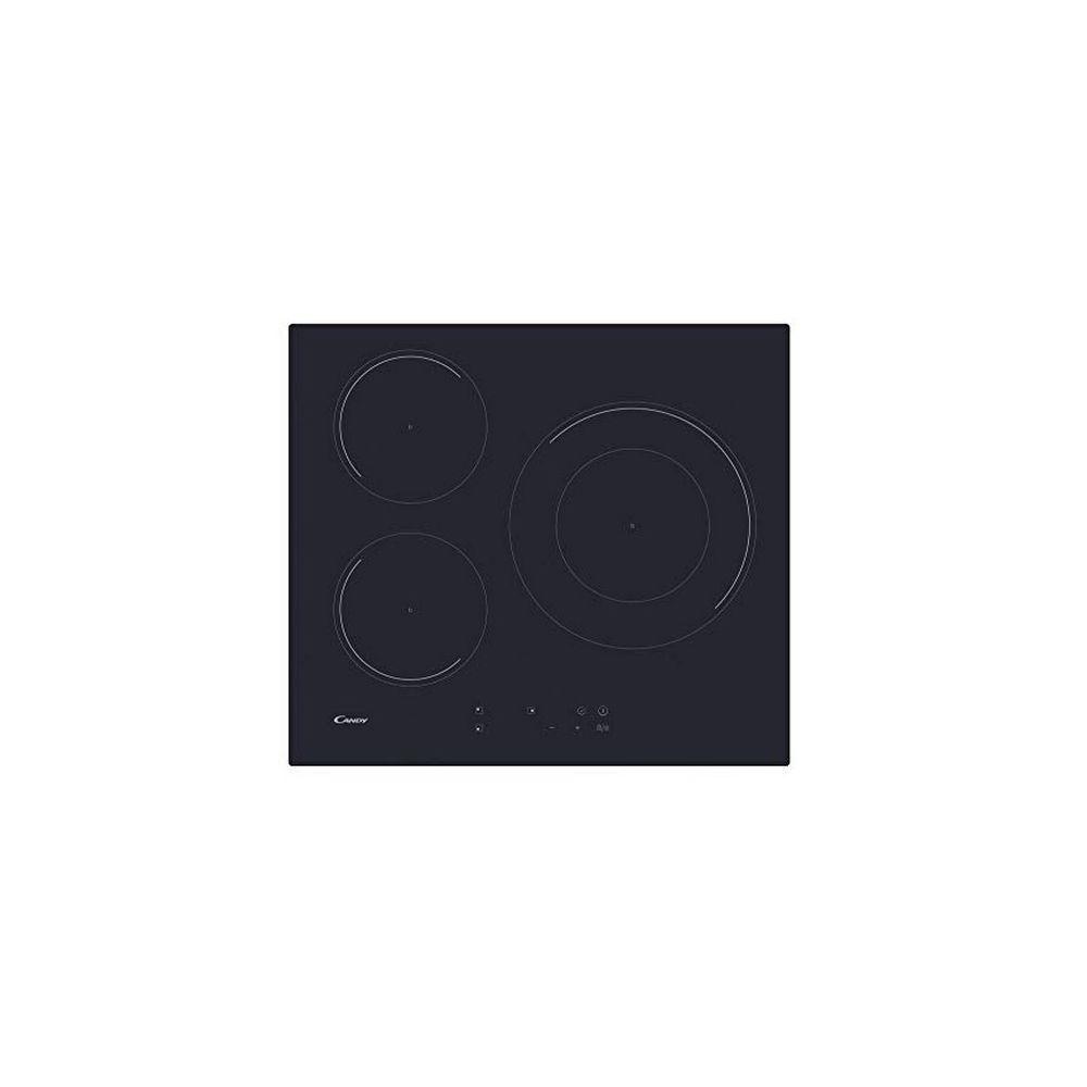 Candy Plaque à Induction Candy CID633C 60 cm 7100W (3 Zonas de Cocción) Noir