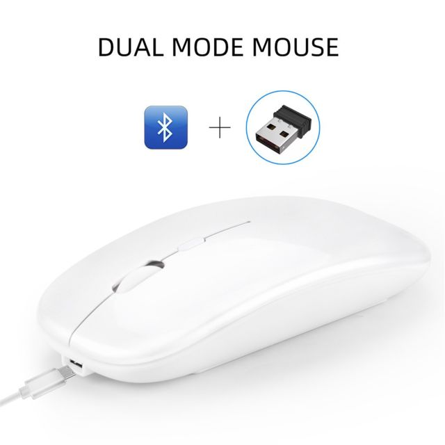 Generic - M90 Rechargeable Wireless BT 5.0 USB Dual Mode Gaming Mouse Souris Pour PC Portable Generic   - Souris Gamer