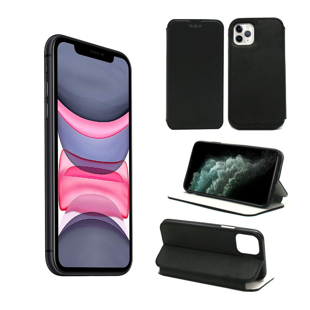 Xeptio - Housse Apple iPhone 11 PRO 5,8 pouces noire - Etui Coque iPhone 11 PRO 5.8 pouces Protection