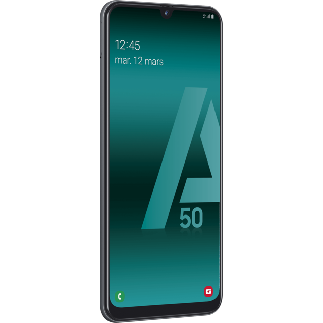 Smartphone Android Galaxy A50 - 128 Go - Noir