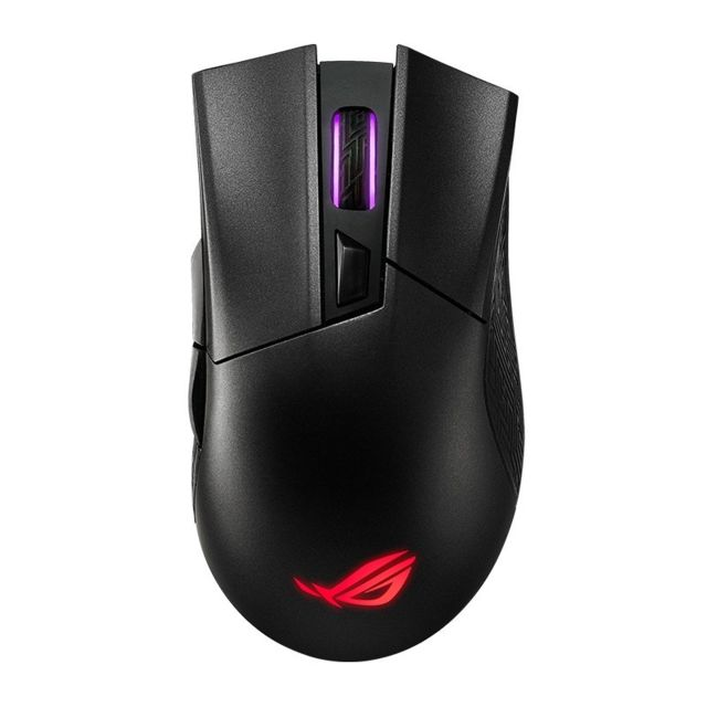 Wewoo - Souris sans fil ASUS Gladius II G II Version 16000DPI 2,4 GHz + Bluetooth + Filaire Trois modes RVB Illuminate optique de jeu avec câble amovible - Souris